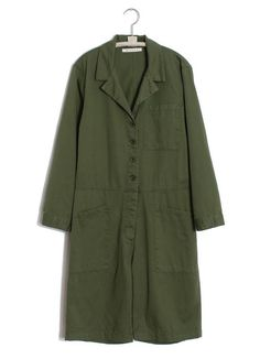 Xirena - Hartley Romper in Surplus – gravitypope Short Jumpsuit, Vintage Inspired, Military Jacket, Thighs, Duster Coat, Rompers, This Or That Questions, Fabric, Sleeves