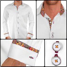 Mens Designer Dress Shirt : Serendipity | Designer Dress Shirts ...