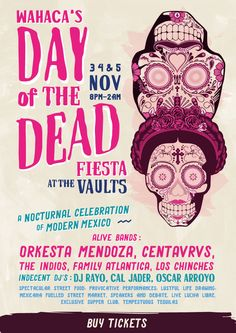 Wahaca's Day of the Dead comes to The Vaults this 2016 | Wahaca
