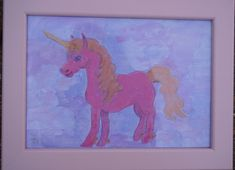 Items similar to Pretty Pink Unicorn Printables personalise on Etsy Pink Unicorn, Paintings For Sale, Painting, Art, Unicorn Painting, Animal Paintings, Top Paintings, Painting Frames, Prints