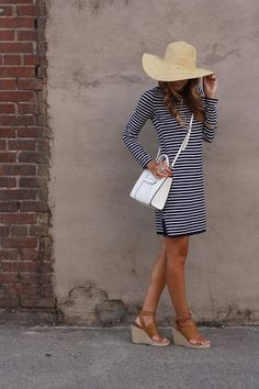 Dressed in Stripes with Mott 50 - Twenties Girl Style