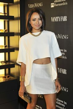 Beauty Kat Graham [Photo by Donato Sardella] Katerina Graham, Lab, Bonnie Bennett, Fashion Beauty, Womens Fashion, Vera Wang, Nice Dresses, Celebrity Style, Cute Outfits