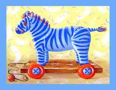 Zebra baby room decor zebra art nursery by HamiltonArtandDesign