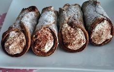 Cannoli, Italian Recipes, Italian Foods, Tiramisu, Cravings, French Toast, Bread, Baking, Breakfast