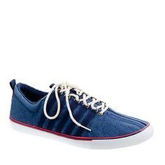 I don't often (ever) wear K-Swiss, but when I do, I wear these. (Or I would if I had them.)