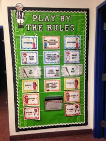 Diary of a Not So Wimpy Teacher: Sports Theme Classroom. Shows pictures of her whole sports themed classroom.