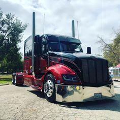 Rv Truck, Big Rig Trucks, Semi Trucks, Peterbilt 387, Peterbilt Trucks, Trailers, F80 M3, Custom Big Rigs, Cummins