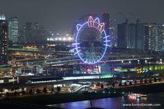 Tokyo, Japan...to ride the Hello Kitty ferris wheel.