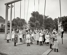 Girls' Playground, 1905