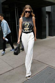 Gigi Hadid street style on May 19, 2016