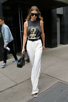 Gigi Hadid street style on May 19, 2016