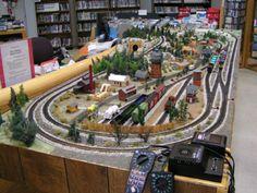 model train buildings: ho model train layouts