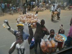 Cameroonian children selling along the high ways. Most of them are minors. Courage to all and i wish you the best