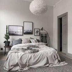09 Comfy Modern Scandinavian Bedroom Ideas