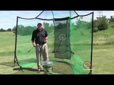 how to build a golf practice net golf and golf practice