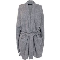 Tibi Oversized Alpaca Cardigan ($425) ❤ liked on Polyvore featuring tops, cardigans, grey, gray oversized cardigan, tibi top, oversized cardigan, oversized tops and grey cardigan