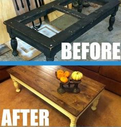 i need to do this! | upcycled table