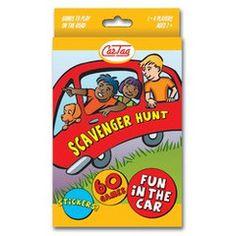 Car Tag, Scavenger Hunt $9.95