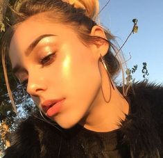 Image result for golden hour aesthetic face