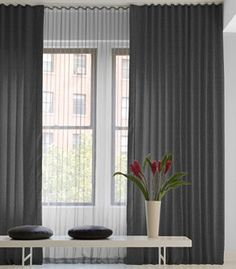 Ripple Fold Drapery | Buy Commercial, Contract & Hospital Track Ripple Fold Drapes Online — The Shade Store | The Shade Store