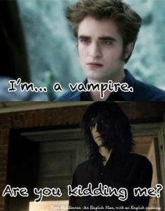 Edward Cullen vs. Adam (Only lovers left alive) xD