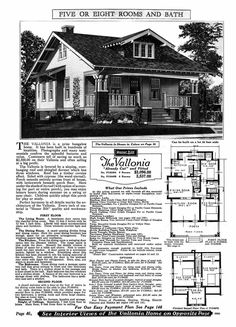 Order a bungalow from Sears Catalog. How easy is that!