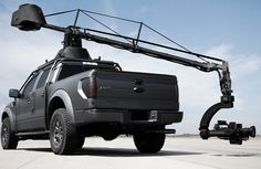 Russian Arm Camera Crane Video from 1987 and a Ford Raptor