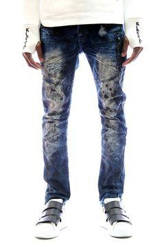 KLEEP KLEEP PREMIUM HEAVY WASHED COTTON DENIM PANTS
