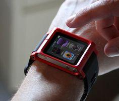 iPod Nano Watch Case by LunaTik vía @sucede