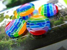 rainbow buttons  : )
