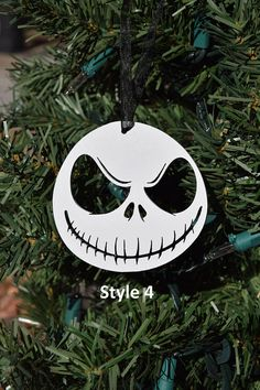 jack skellington christmas halloween ornament everyone hail to the pumpkin king whether youre decorating the - Jack Skeleton Christmas Decorations