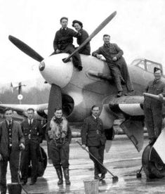 Air Force Aircraft, Ww2 Aircraft, Military Aircraft, Westland Whirlwind, Hawker Tempest, Hawker Typhoon, Hawker Hurricane, Land Girls, Ww2 Pictures