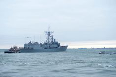 USS Kauffman departs Norfolk for final deployment, Jan 9, 2014, last Oliver Hazard Perry-class...