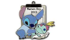 2013 Nurses Day  Don't forget to thank the nurses in your life for all they do on Nurse's Day, May 6, 2013. This limited edition pin featuring Stitch from Disney's Lilo & Stitch was created to remind everyone of the important role nurses play in society.