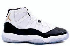 "big sale 14655 10f11 Buy New Air Jordan 11 Retro ""DMP"" White-Black Metallic Gold Authentic from  Reliable New Air Jordan 11 Retro ""DMP"" White-Black Metallic Gold Authentic  ..."