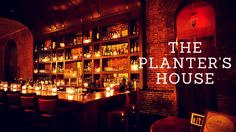 Unique cocktails and delicious food from the Planter's House in St. Louis.