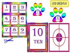This is a set of 18 individual files to use in your classroom. This beautiful clip art set will be delivered to you in jpeg file format via a .zip file.The zip file contains - 18 color 300 ppi JPEG files- numbers- one, two, three, four, five, six, seven, eight, nine, tenYou can provide feedback if you think this is a great resource for your class and follow my store for updates, freebies and promotions!Thanks for stopping by!New products are 50% off during first 24 hours of posting!