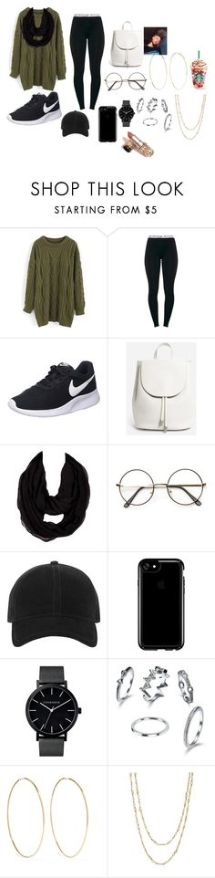 """Chill"" by kayla2004marie on Polyvore featuring Chicwish, NIKE, Everlane, rag & bone, Speck, Magda Butrym and Samira 13"