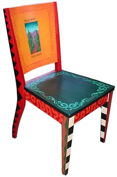 Image detail for -Hand-Painted Furniture, End Table