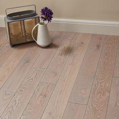 Bath room grey oak wood flooring Ideas for 2019 Direct Wood Flooring, Solid Wood Flooring, Engineered Wood Floors, Grey Flooring, Hardwood Floors, Small Bathroom Inspiration, Modern Baths, Furniture Vanity, Grey Oak