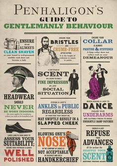 Guide to Gentlemanly Behaviour