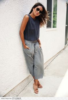 """justthedesign  """"How To Style Culottes  When this lady starts wearing  culottes 6e6d984dbbe"""