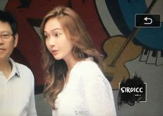 """Jessica Jung on the way to filming the chinese Show """"Happy Camp"""""""
