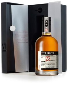 Kininvie 1991  23 Year Old Batch 3 Half Bottle  35cl / 42.6% Speyside Single Malt Scotch Whisky Distillery Bottling   The third batch carry the distillery's name on the label, this 23-year-old Kininvie was distilled in 1991. With some sherry wood influence, this is rich and floral.   € 175.05