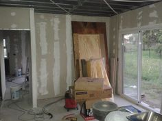 Taringa! Hice mi casa en Steel Framing y quiero compartirlo Steel Framing, Living Comedor, Divider, Home Appliances, Curtains, Room, Furniture, Home Decor, Drywall