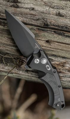 Hogue Grips X5 EDC Folding Pocket Knife, 4 Spear Pt. Blade Black Finish Aluminum Frame G-Mascus Black G10 Insert @aegisgears