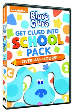 "#GIVEAWAY: Win DVD ""Blue's Clues: Get Clued into School Pack"" US/CAN (Ends 4/13)"