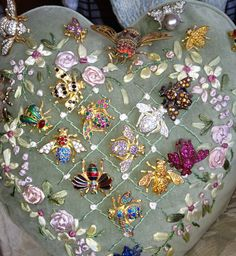 Joan Rivers bee pins. These are really early pins when she was still manufacturing in Rhode Island.