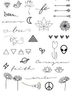 "⚀ TATUAGENS - IDEIAS on Instagram: ""⭕🔴Mais alguns desenhos minimalistas...🔴🔵 . . 👉Sigam: @tatuagensideiasblog . . #tatuagensfemininas #instatattoo #tatuagemsp #tattoo…"""