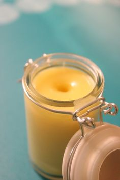 Homemade Balm that can be used for anything! dry skin, eczema, chapped lips, hands, eyes, cuts & scrapes, and more! The recipe came from a balm that sells for $34/1.25 ounces in spas!
